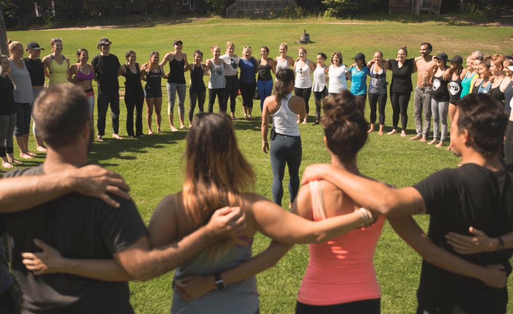 Camp yoga Ontario